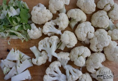 Cauliflower Gratin Direction 1