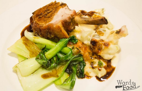 Roasted Pork Rack With Fennel And Mustard