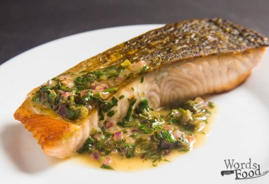 Salmon With Caper And Tarragon Pan Sauce