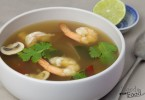 Tom Yum Goong (Hot And Sour Shrimp Soup)